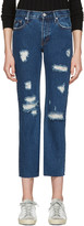 Earnest Sewn Blue Victoria Jeans