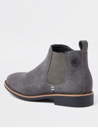 River Island Boys Chelsea Boots - Grey