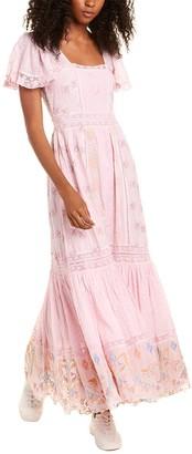 LoveShackFancy Sorelle Maxi Dress