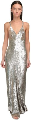 Temperley London Sequined Long Dress