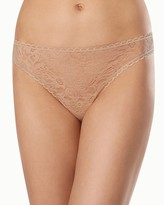 Enticing Allover Lace Thong