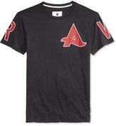 G Star Men's Afrojack Longline Graphic-Print Logo T-Shirt
