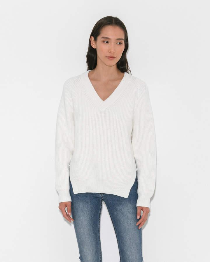 Alexander Wang Deep V Sweater