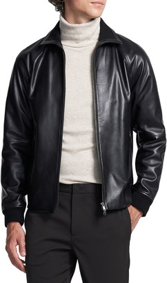 Theory Landan Leather Jacket