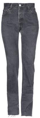 Levi's Re/Done With RE/DONE with Denim trousers