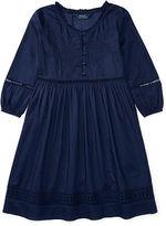 Ralph Lauren Eyelet Cotton Voile Dress
