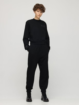 McQ Logo Detail Cotton Sweatpants