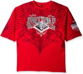 Southpole Men's Big and Tall Short Sleeve Hd, Screen Print Graphic Tee with Logo