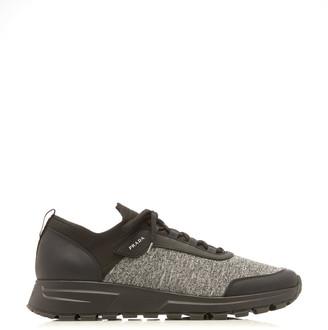 Prada Prax Jersey Runner Sneakers
