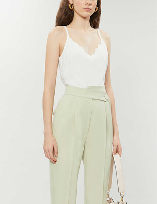 Ted Baker Scalloped crepe camisole