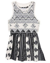 Rare Editions Sleeveless Lace Popover Dress - Preschool Girls 4-6x