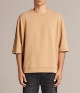 AllSaints Putro Short Sleeve Crew Sweatshirt