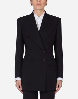 Dolce & Gabbana Gabardine Double-Breasted Jacket