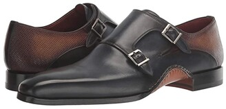 Magnanni Altamira (Navy/Cuero) Men's Shoes
