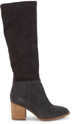 Blondo Nada Suede Knee-High Boots