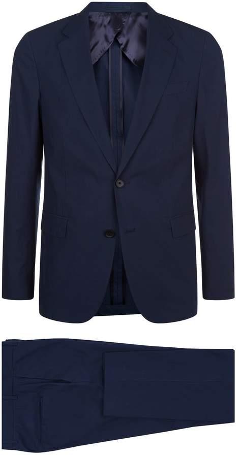 BOSS Cotton Two-Piece Suit