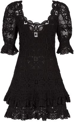 Jonathan Simkhai Crocheted Mini Dress