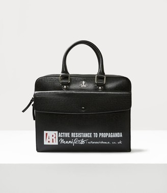 Vivienne Westwood Kent Slim Document Case Black