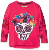 Desigual Girl's TS_Georgia Long Sleeve Top,(Manufacturer size: 13/14)