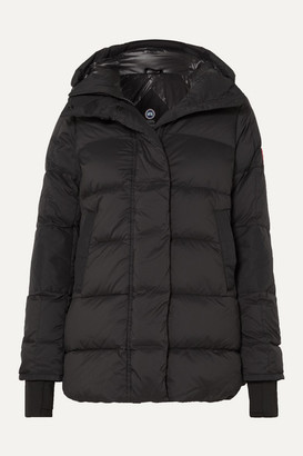 Canada Goose Alliston Hooded Quilted Shell Down Jacket - Black