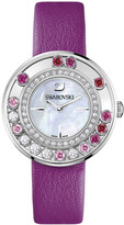 Swarovski Lovely Crystals Magenta Watch