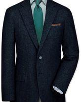 Charles Tyrwhitt Slim fit blue tweed jacket