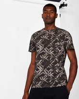 Ted Baker Geo print cotton Tshirt