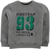 Firetrap Crew Sweater Junior Boys