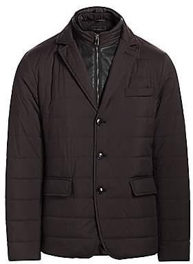 Saks Fifth Avenue Men's Puffer Style Sport Jacket