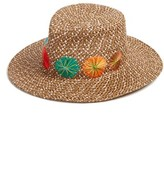 Eric Javits Women's Zanzibar Packable Squishee Hat - Brown