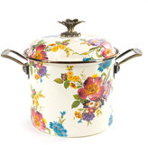 Mackenzie Childs MacKenzie-Childs Flower Market 7-Quart Stockpot