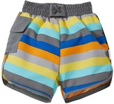 I Play Board Short W/Built-in Swim Diaper (Baby) - Gray - 18 Months