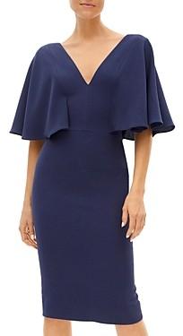 Dress the Population Louisa Flutter Sleeve Sheath Dress