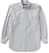 Polo Ralph Lauren Big & Tall Striped Oxford Long-Sleeve Woven Shirt