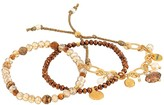 Chan Luu Set of 3 Stretch Gift Set Bracelets (Gold Mix) Bracelet