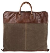 Moore & Giles Gravely Garment Bag - Brown