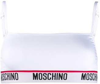 Moschino microfibre sports bra