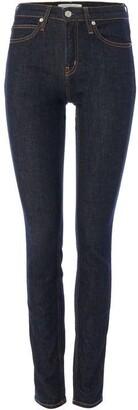 Calvin Klein Jeans Mid Rise Skinny Rinse Denim