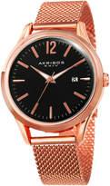 Akribos XXIV Classic Mesh Bracelet Date Watch, 41mm