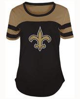 5th & Ocean Women's New Orleans Saints Limited Edition Rhinestone T-Shirt