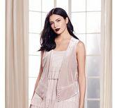 Lauren Conrad Runway Collection Velvet Vest - Women's