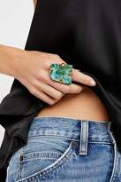 Large Raw Stone Ring by M.Liz Designs at Free People