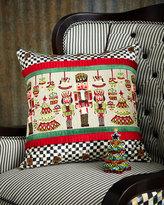 Mackenzie Childs MacKenzie-Childs Santa's Workshop Pillow