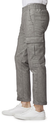 J Brand Men's Fenix Cropped Cargo Pants