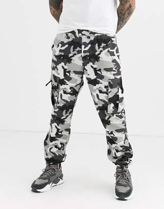Puma XTG Trail Camo Cargo Pants Black