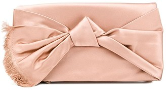 Tory Burch knot clutch bag