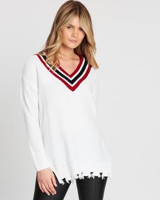 Runaway Cheerleader Sweater
