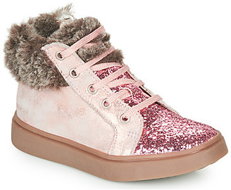 Catimini MARCELLE girls's Shoes (High-top Trainers) in Pink