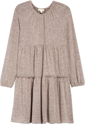 Tucker + Tate Kids' Long Sleeve Tiered Dress
