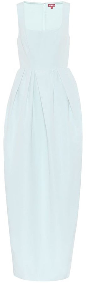 STAUD Iris cotton-blend maxi dress